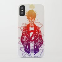 prince iPhone & iPod Cases featuring Prince by Lance Phillips