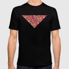 Triangle Pattern Black MEDIUM Mens Fitted Tee