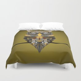 Diffracted Owl Duvet Cover