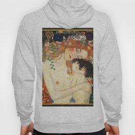 Mother and Baby - Gustav Klimt Hoody