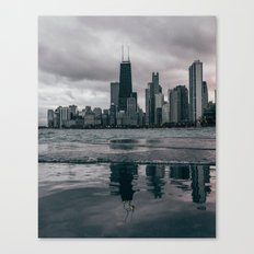 Chicago Black & White Canvas Print