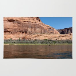 Fishing the Colorado River Rug