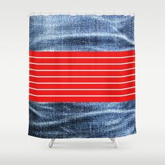traper Shower Curtain