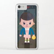 Stranger Things fan art Clear iPhone Case