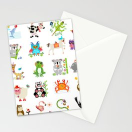Jungle Bungle Stationery Cards