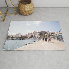 Ibiza Town Outlook Rug