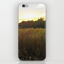 Wheat sunset iPhone Skin