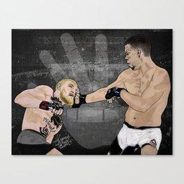 Nate Diaz Stockton Slap Canvas Print