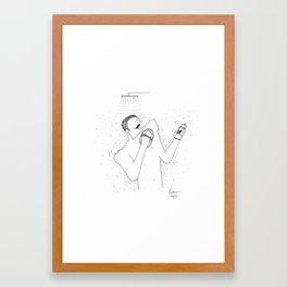 Exfoliate Framed Art Print
