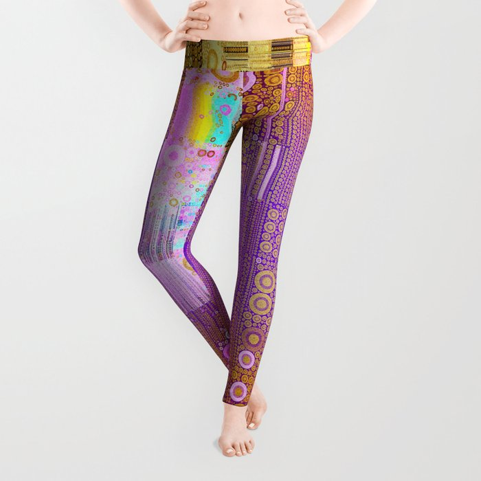 Geometric Colors Leggings