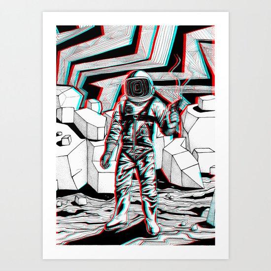 Ranger Rick Art Print
