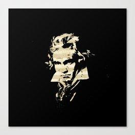 Beethoven - German Composer Canvas Print
