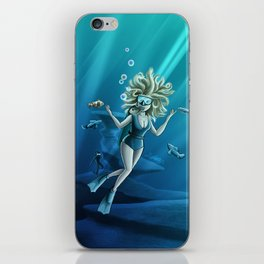 Deep Sea Feelings (Evolve) iPhone Skin