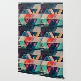 Geometric Abstract: jyst ynyff Wallpaper