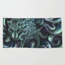 To Shed Ones Skin Beach Towel