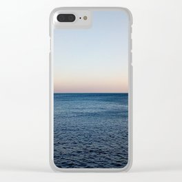 Where the Ocean meets the Sky Clear iPhone Case