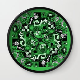 Summer Relief Wall Clock