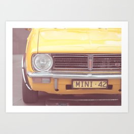 Yellow Mini Art Print