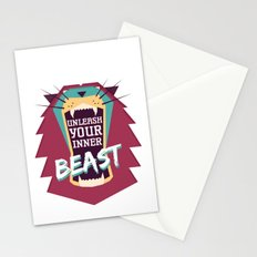 Unleash Your Inner Beast Stationery Cards