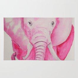 Fuchsia Elephant Rug