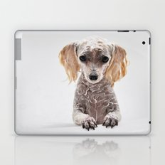 Bath Time for Rylie  (poodle) Laptop & iPad Skin
