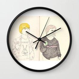cobain and johnston Wall Clock