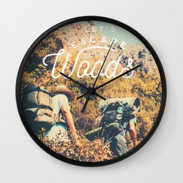 Let's Escape Wall Clock