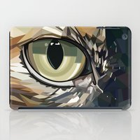 stevie nicks iPad Cases featuring Stevie Cat by Kelli Holtman