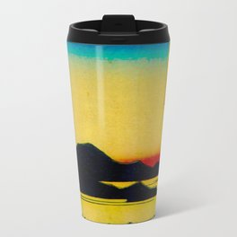 Sunset Contemplative Landscape Travel Mug