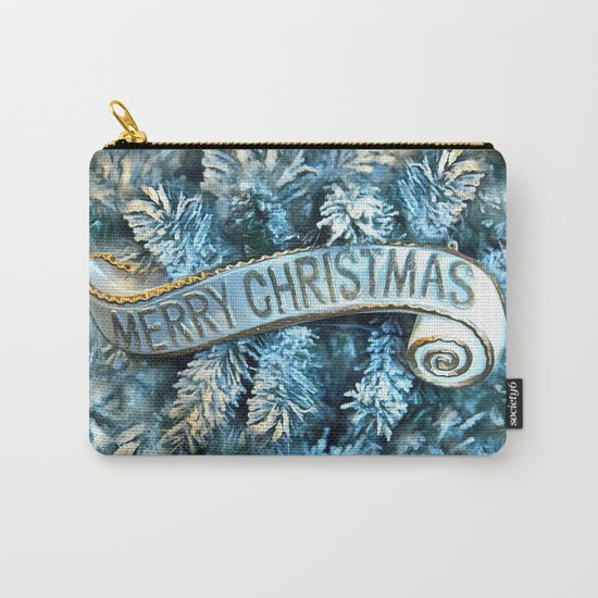 Merry Christmas Carry-All Pouch
