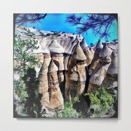 Kasha-Katuwe Tent Rocks National Monument Metal Print