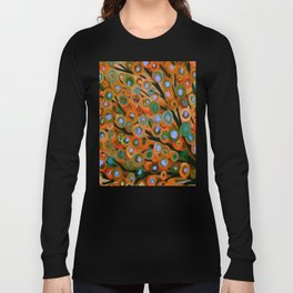Fall Red Leaves Tree Long Sleeve T-shirt