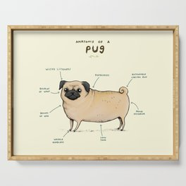 Anatomy of a Pug Serving Tray