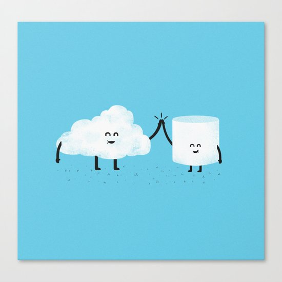 Puffy Pals Canvas Print