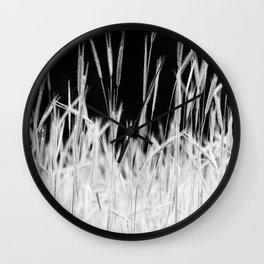 Rye's field Wall Clock