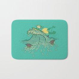 Surfin' Soundwaves Bath Mat