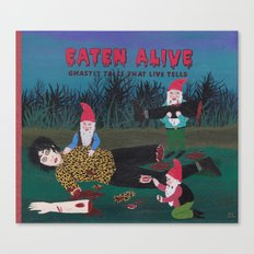 EATEN ALIVE Canvas Print