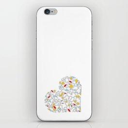 Heart (2) iPhone Skin