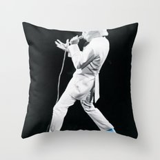 Blue Suede Trooper _ elvis and star wars Throw Pillow