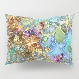 Mermaids Treasure Pillow Sham