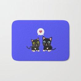 Cats in Love Bath Mat