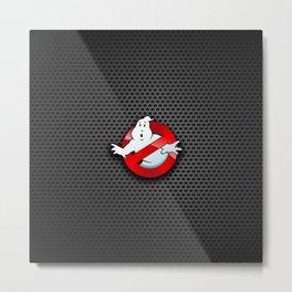 ghost logo Metal Print