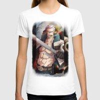 one piece T-shirts featuring Smoker - One Piece by Fisukenka