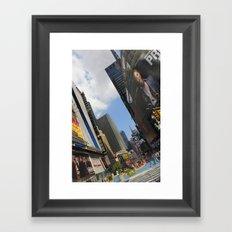 New York City Life Framed Art Print