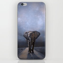 I Walk Alone iPhone Skin