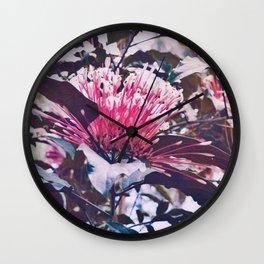 Garden Flower Wall Clock