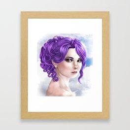 Katiya - Pure Face Framed Art Print