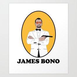 JAMES BONO Art Print