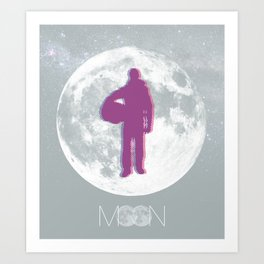 Moon - Movie Poster Art Print