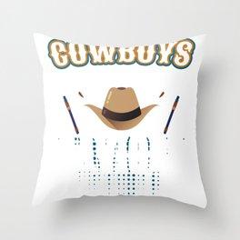 Cowboys Are Our Saviors Throw Pillow